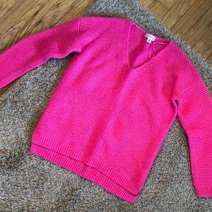 Calvin Klein Hot Pink Sweater
